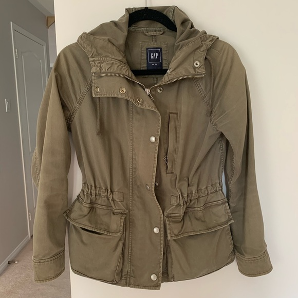 GAP Cargo Utility Hooded Jacket